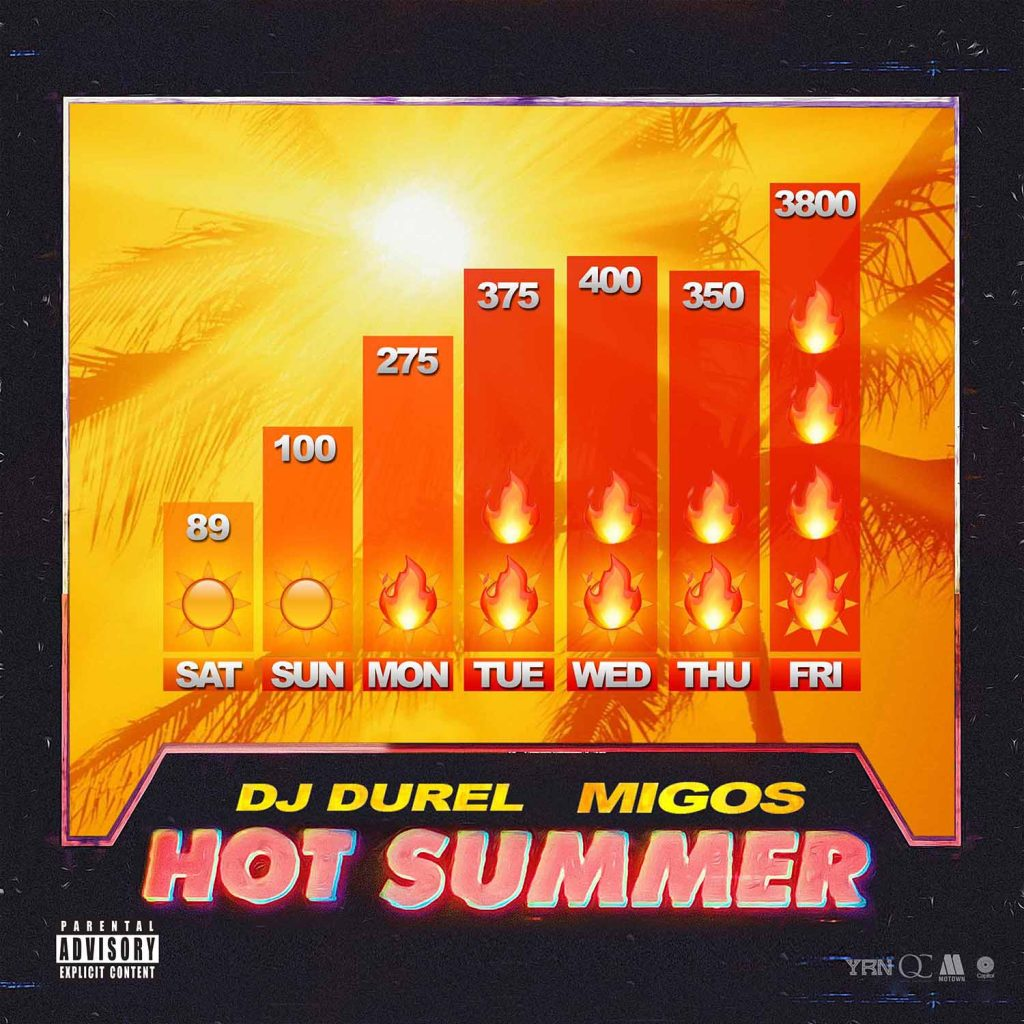 """Hot Summer"" by DJ Durel feat. Migos"